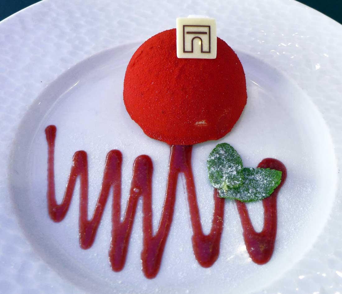 L'Atelier Renault, un dessert signé Angelina