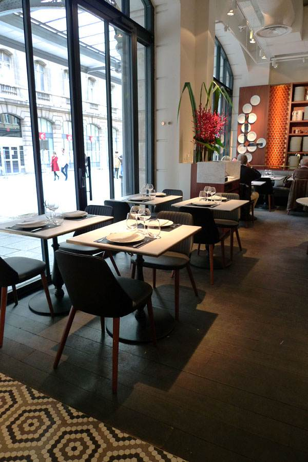 Restaurant Lazare, la salle