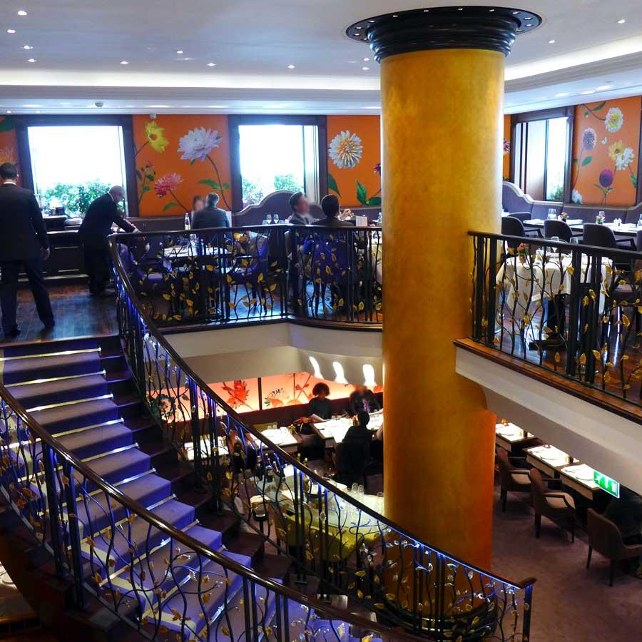 Restaurant Le 114 Faubourg, la belle salle à Manger