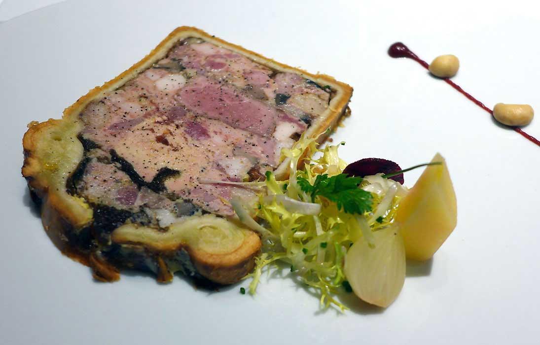 Restaurant Le 114 Faubourg, le pâté en croûte