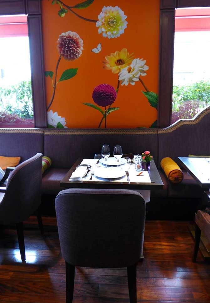 Restaurant Le 114 Faubourg, chic et élégant