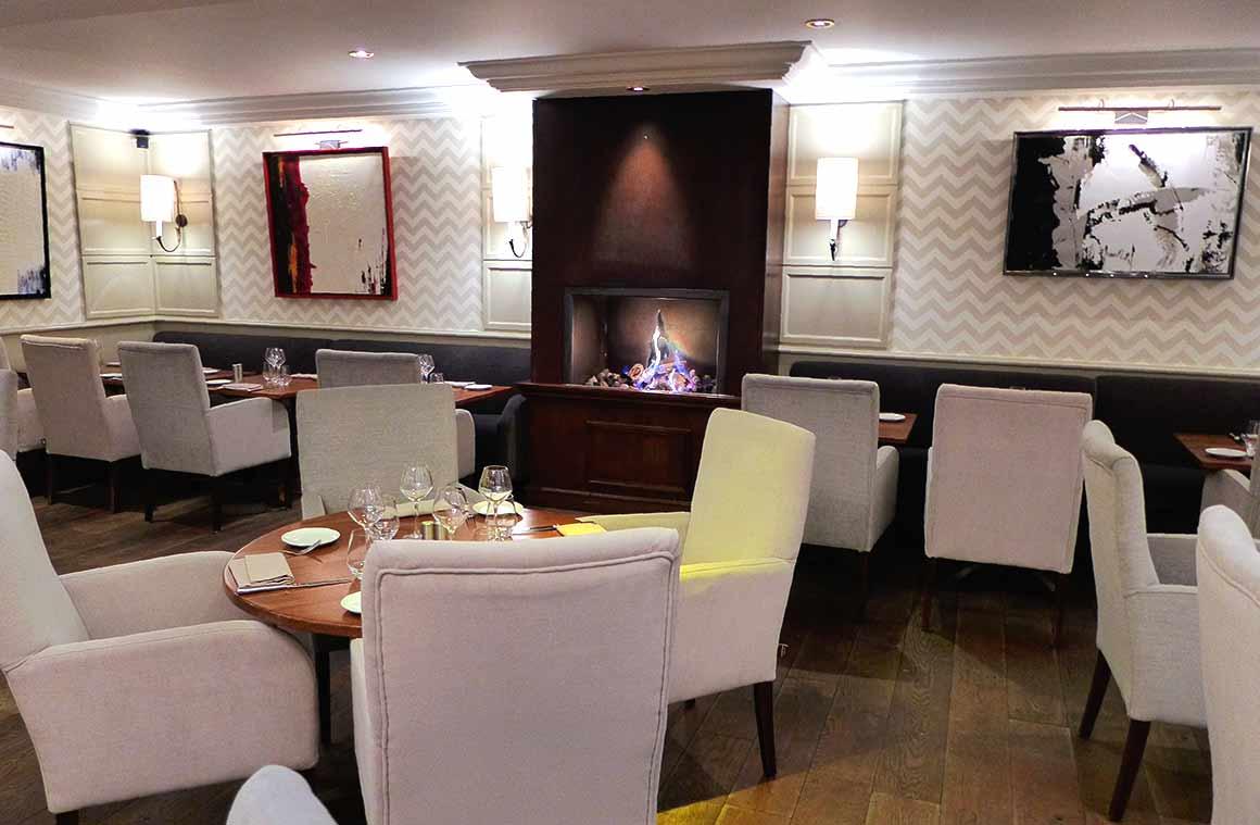 Restaurant Le 141, une salle