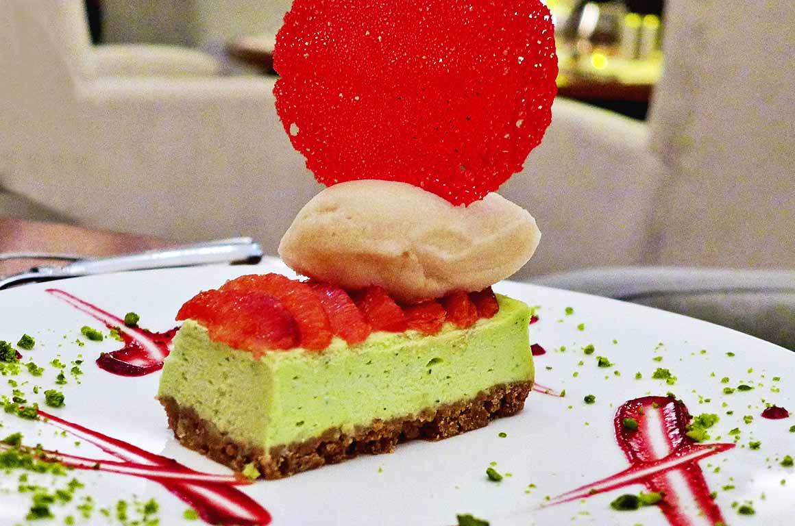 Restaurant Le 141, cheesecake