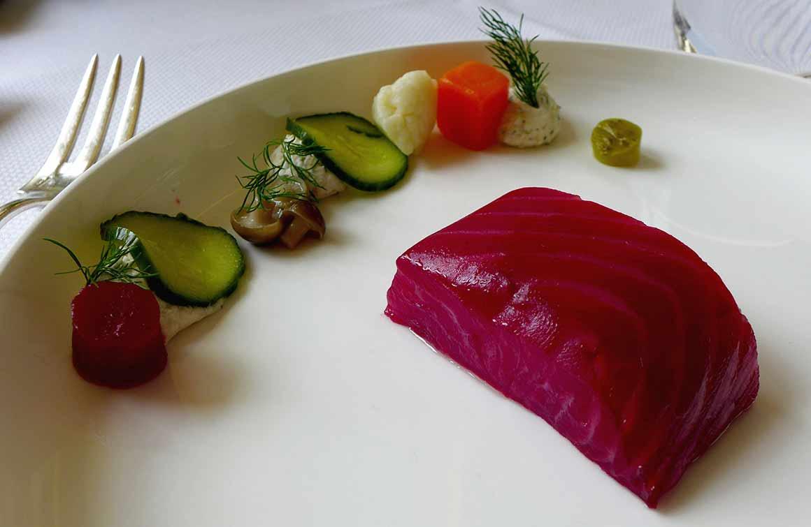 Restaurant Maison Petrossian : Saumon