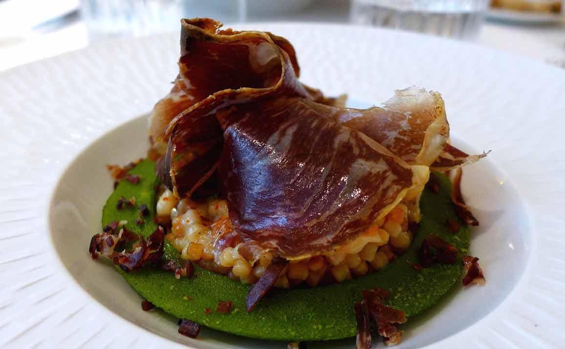 Restaurant Le 99 Haussmann : Les frégola à la Cecina