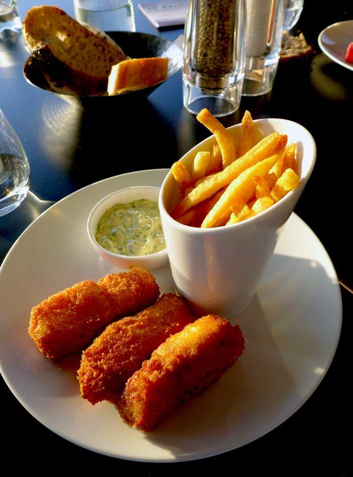 Restaurant LE BALCON, Fish & chips