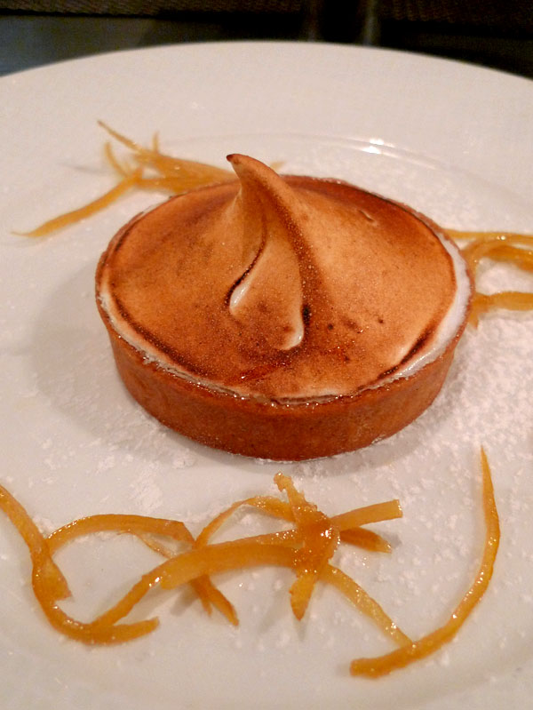 Restaurant Le Bar à Huîtres Ternes : Tarte citron meringuée