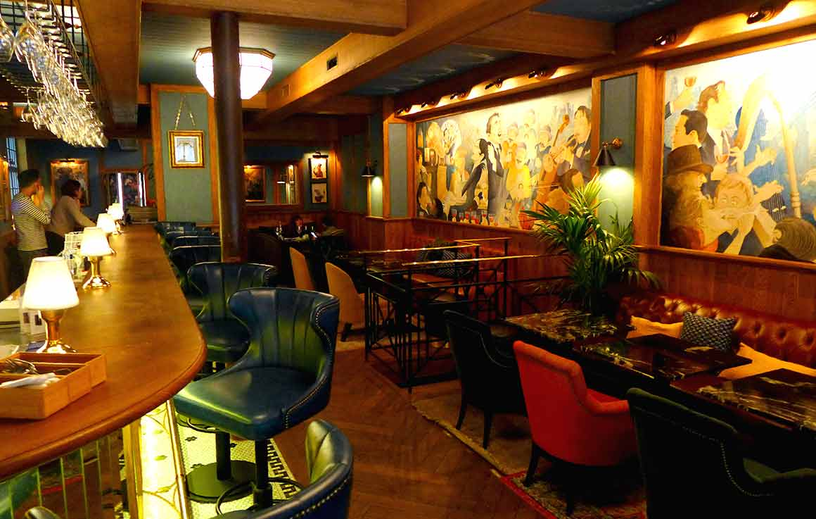 Restaurant L'Ecluse, la salle