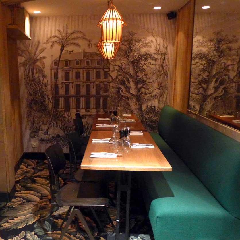 Restaurant Le Beaumarchais, la salle