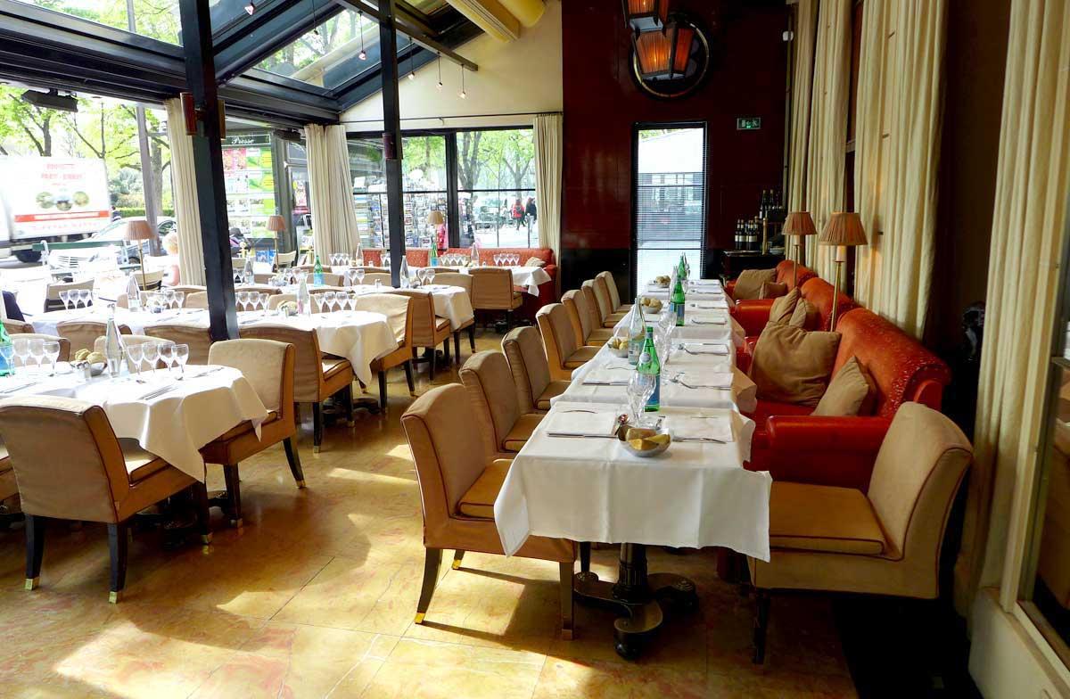 Restaurant Le Berkeley : La salle