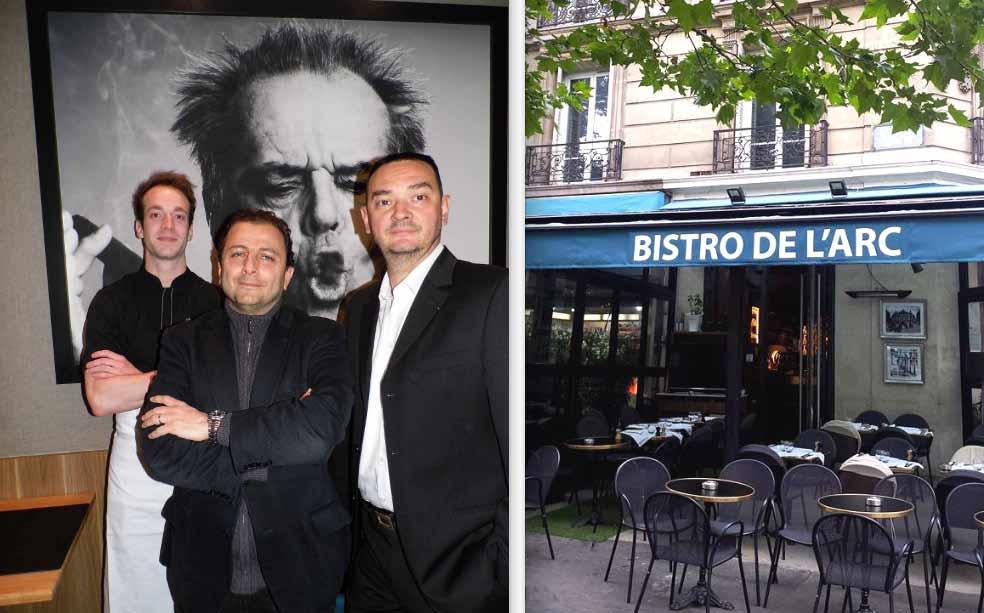 Le chef Etienne Meot - Tony El Khoury - Laurent Delarbre