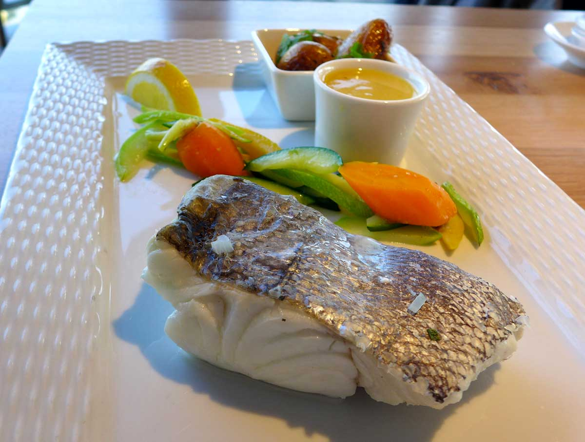 BISTROT DE L'OCEAN : Colin beurre blanc