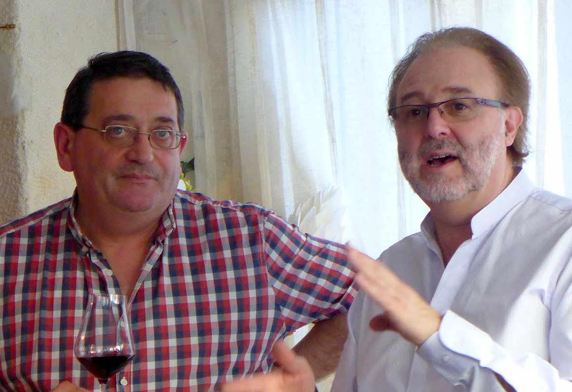 Laurent Courbis et Philippe Faure-Brac