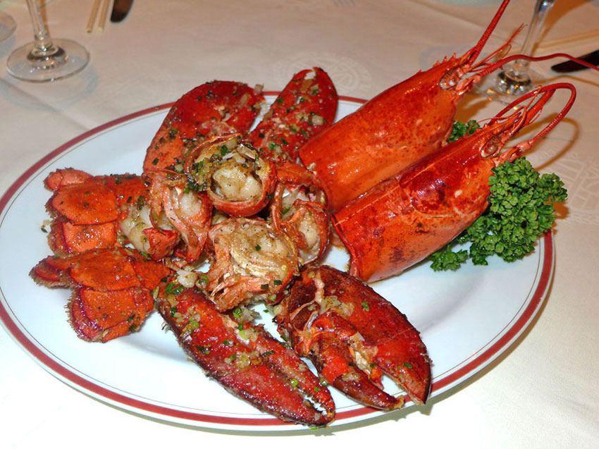 Au Bonheur de Chine, le homard