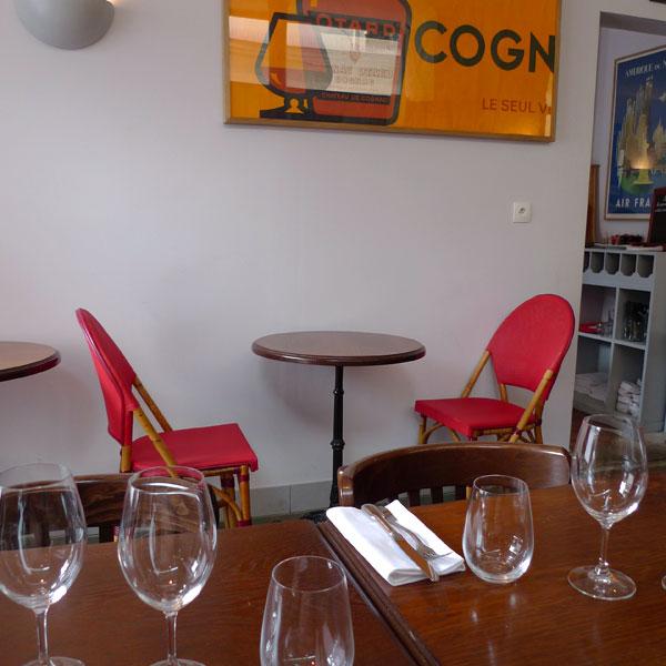 Restaurant Le Bouchon et L'Assiette, Ambiance bistrot