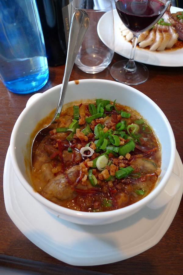 Restaurant Le Bouchon et L'Assiette, L'épaule d'agneau et compotée d'haricots tarbais