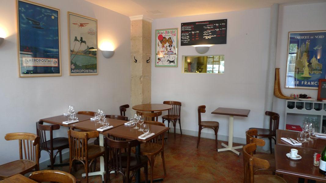 Restaurant Le Bouchon et L'Assiette, La salle du restaurant