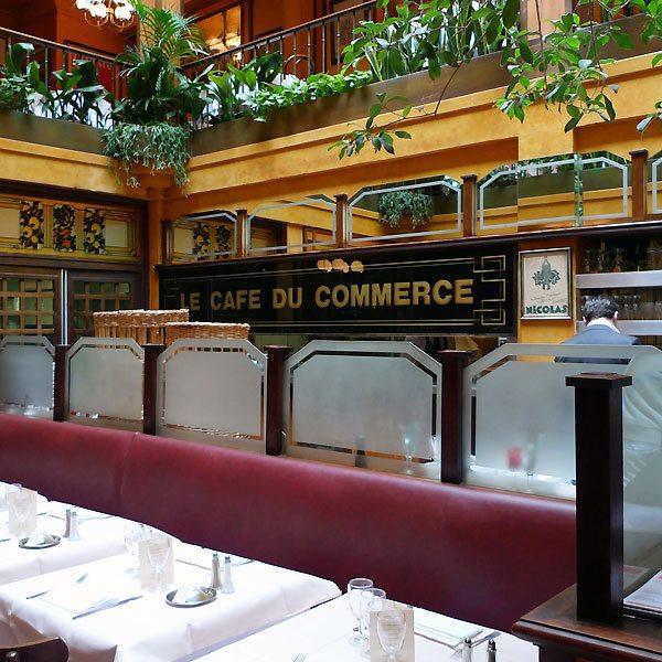 Café du Commerce, Le restaurant