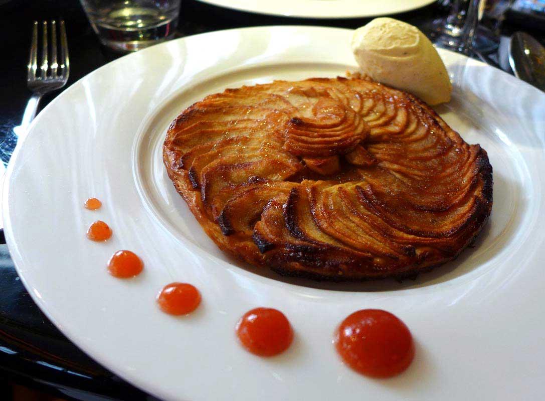 Restaurant Le Café du Théâtre : Tarte aux pommes