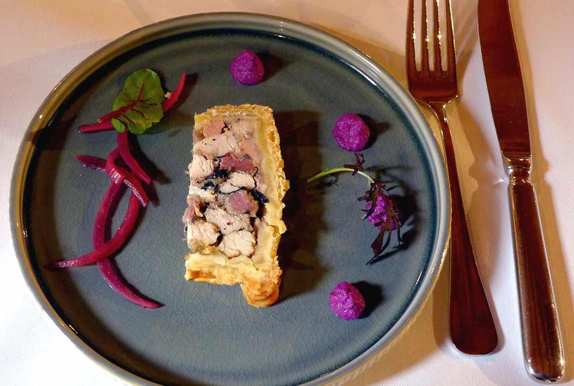 Restaurant Le Chalet, Pâté en croûte