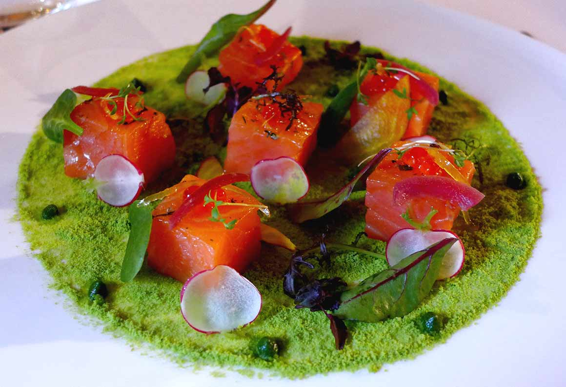 Restaurant Le Chalet, Saumon confit