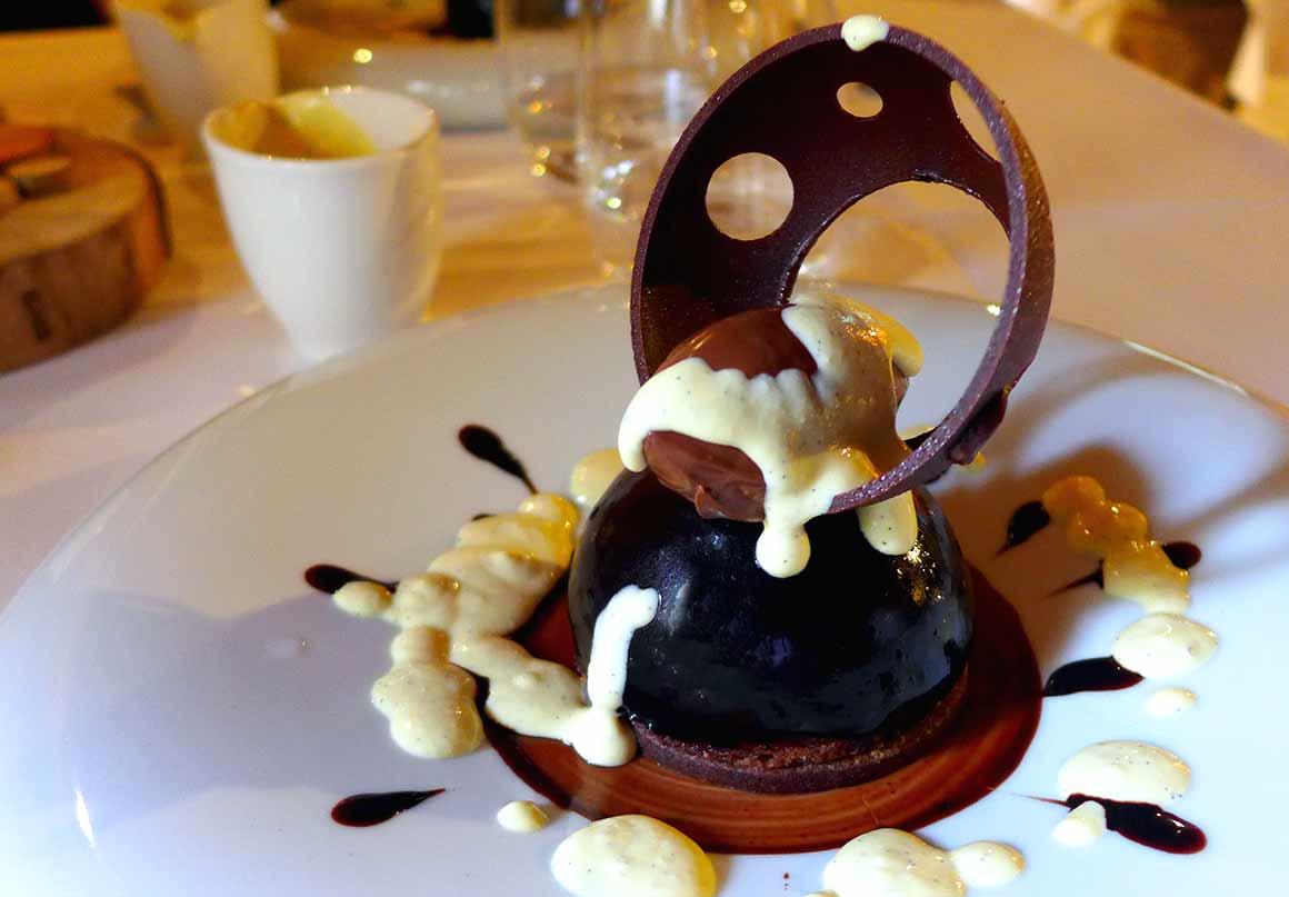 Restaurant Le Chalet, Crémeux au chocolat noir
