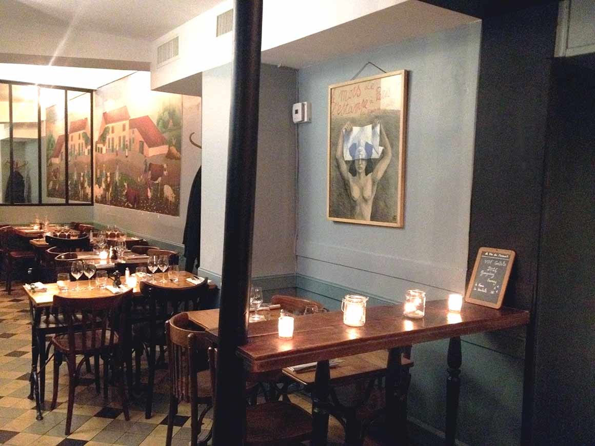 Restaurant Le Coude Fou,la salle