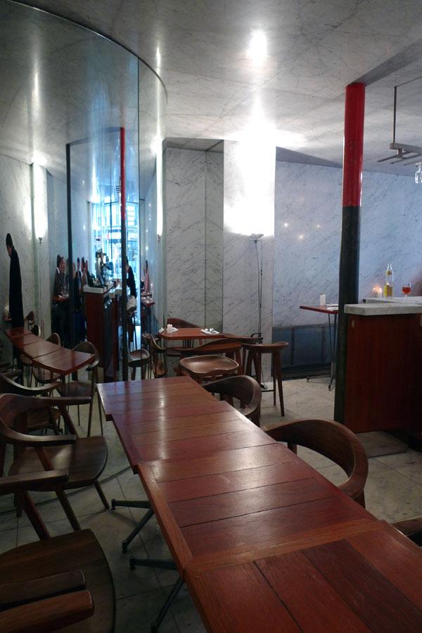 Restaurant Le Dauphin, la salle