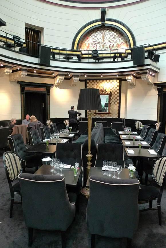 Restaurant Le Dome du Marais, la salle