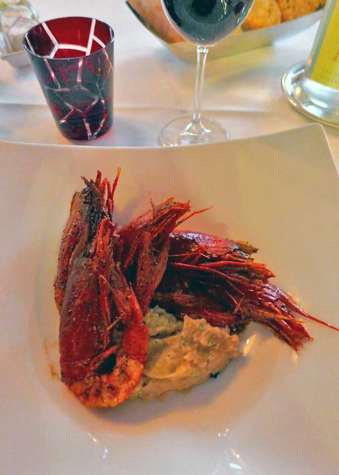 Restaurant Le Fouquet's La Baule : Gambas