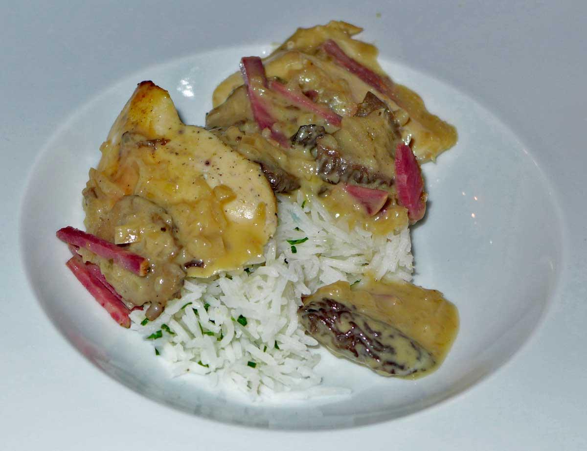 Restaurant Le Fouquet's La Baule : Suprême de poulet jaune