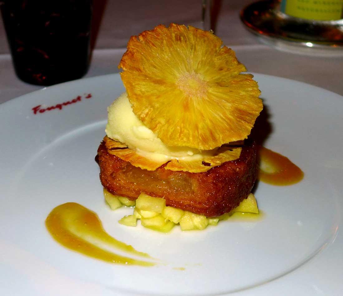 Restaurant Le Fouquet's La Baule : Kouign-Aman à l'ananas
