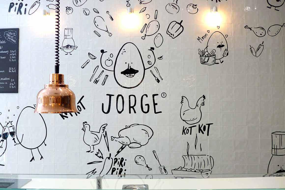 Restaurant Chez Jorge : La salle