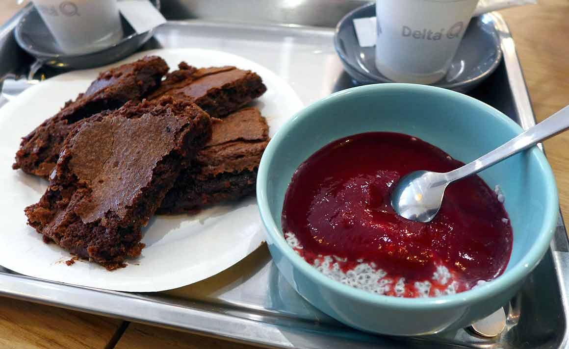 Restaurant Chez Jorge : Gâteau chocolat maison