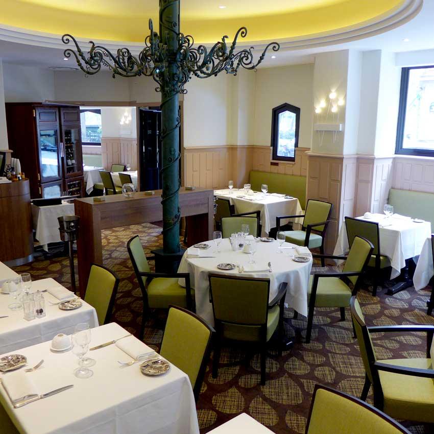 Restaurant Le Gaigne, La salle