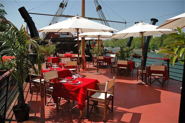 Restaurant Le Galion, la terrasse