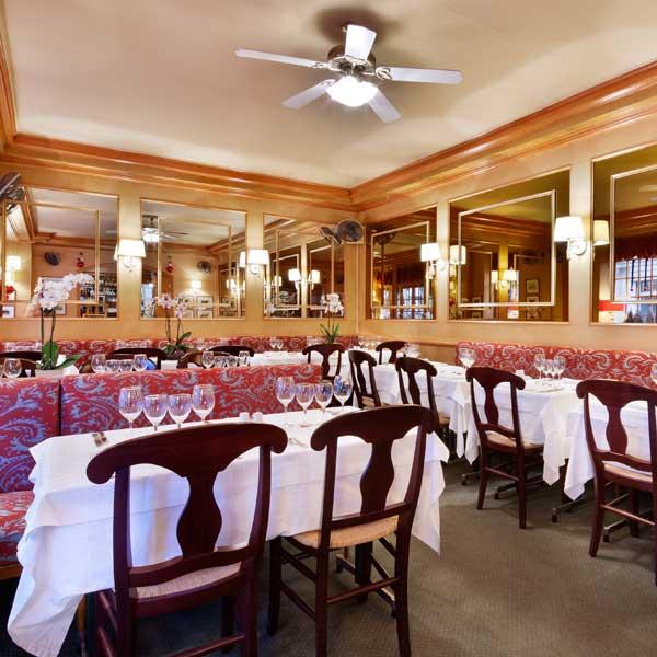 Restaurant Le Gastroquet, La salle