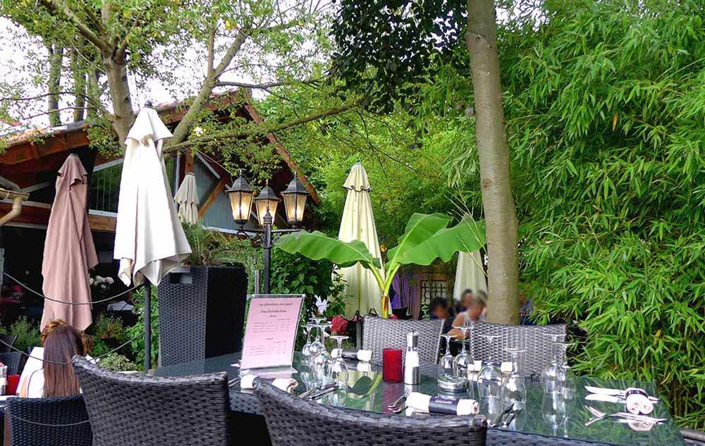 Le jardin terrasse