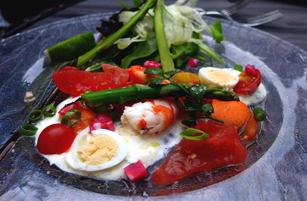 Restaurant Le Gourmet : Salade du maraîcher