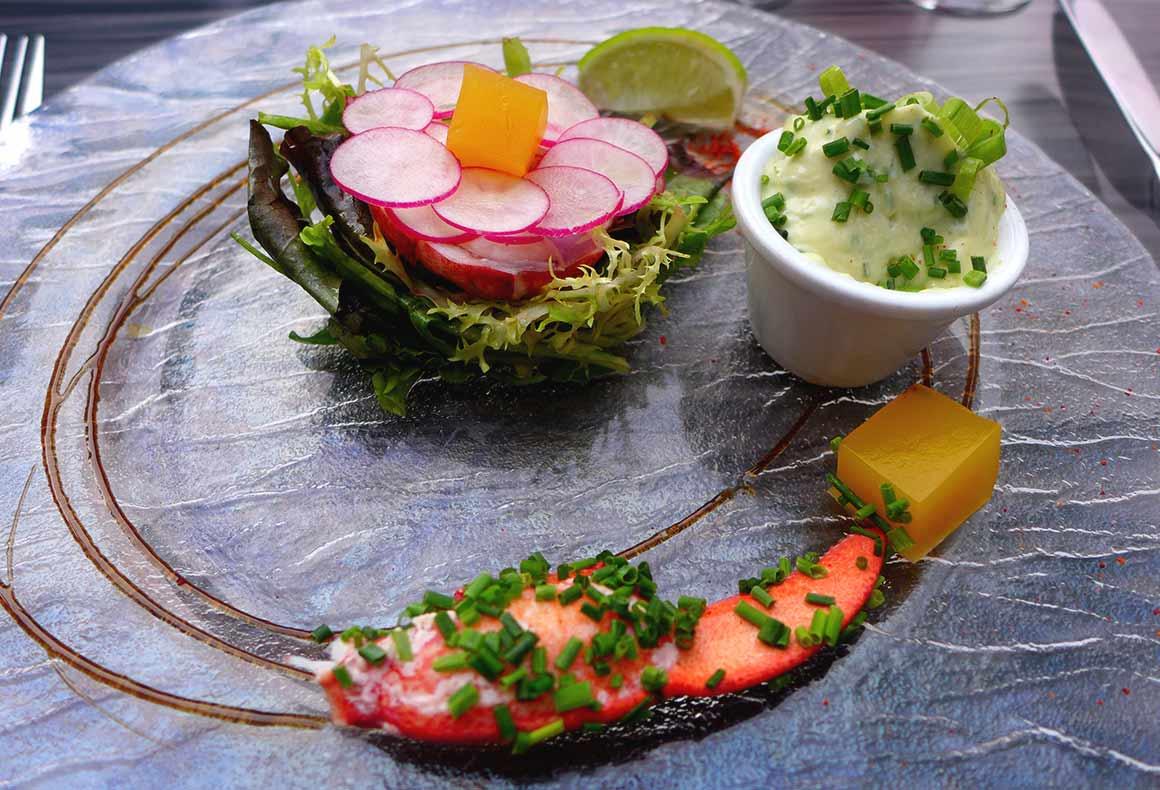 Restaurant Le Gourmet : Salade de homard mayonnaise