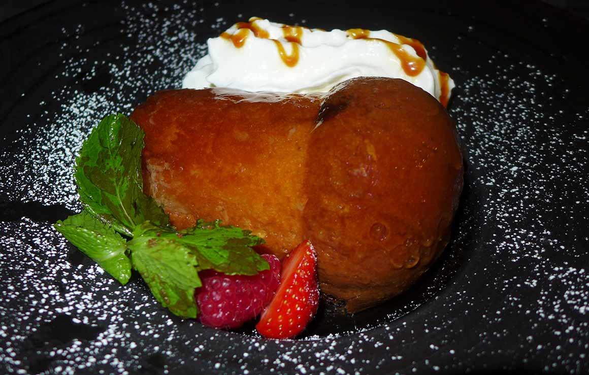 Restaurant Le Gourmet : Baba rhum raisin