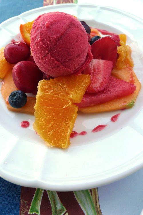 Restaurant Le Grand Bleu, Les desserts