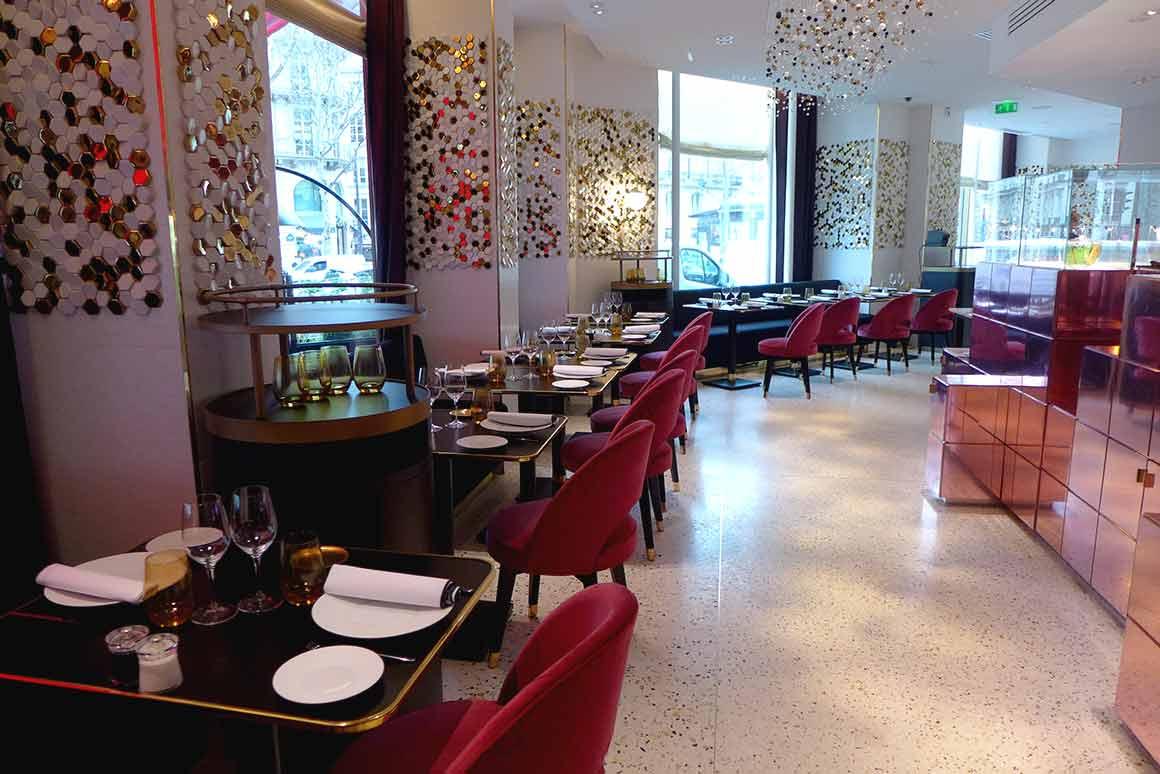 Le Grand Café Fauchon, la salle