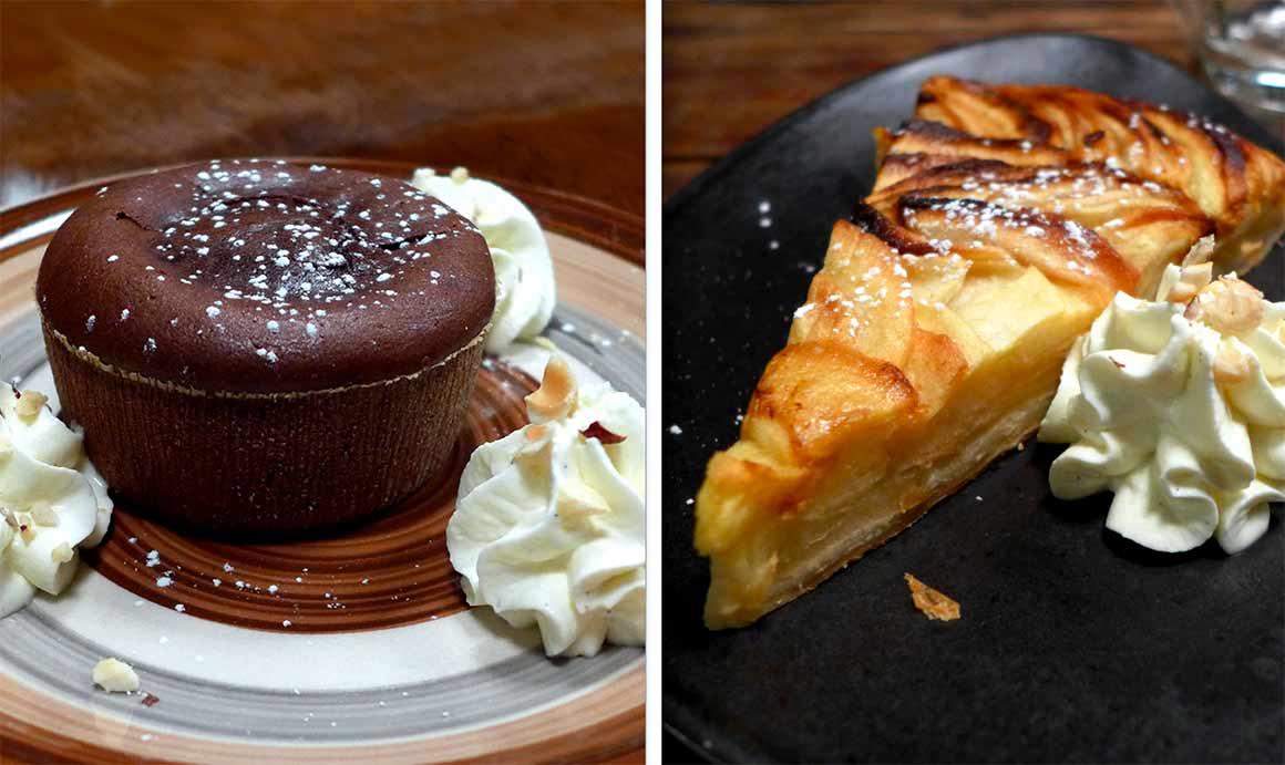Restaurant Le Grill Astier : Moelleux au chocolat  noir