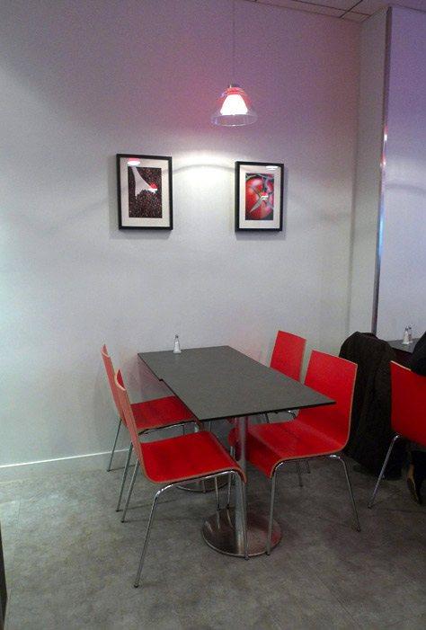 Restaurant Little B, Décoration sobre et raffinée