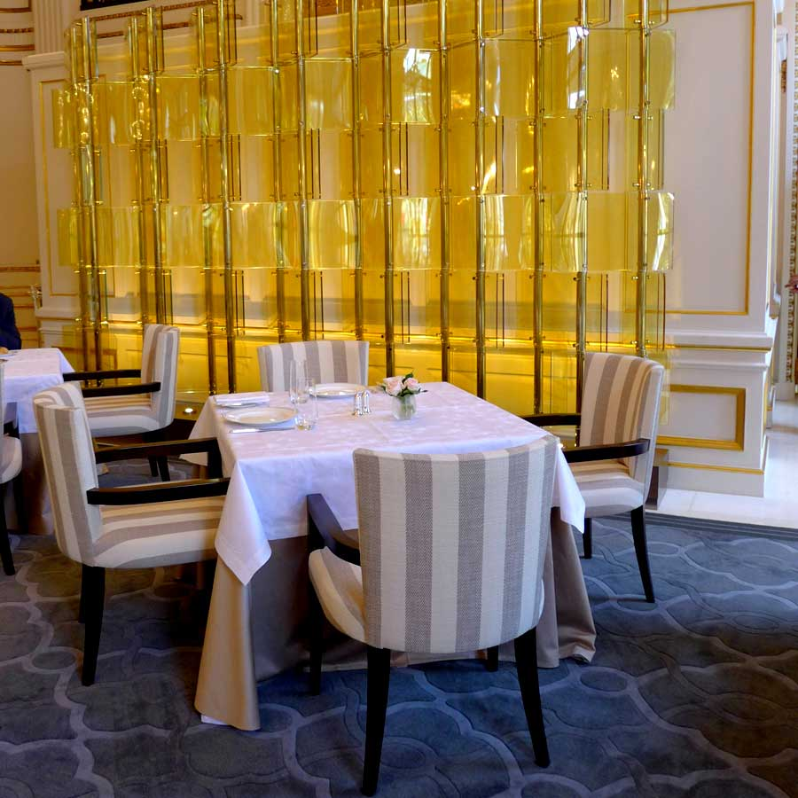 Restaurant Le Lobby, la salle