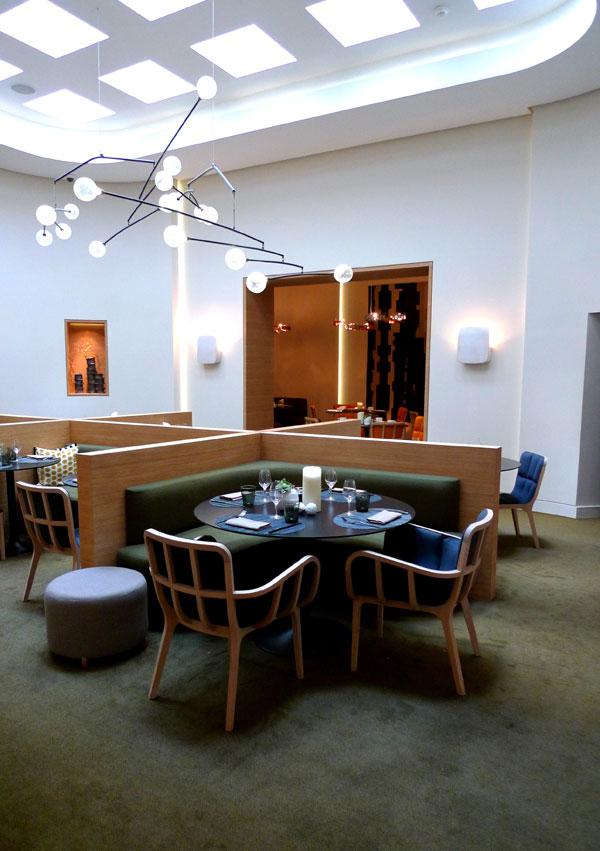 Restaurant Le Marignan, la salle