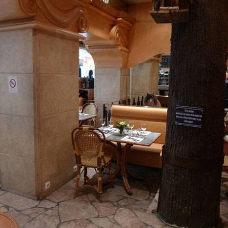 Bistrot Le Mauzac, décor original