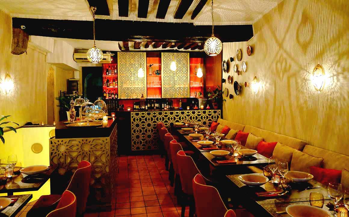 Restaurant Le Mechoui du Prince : La salle