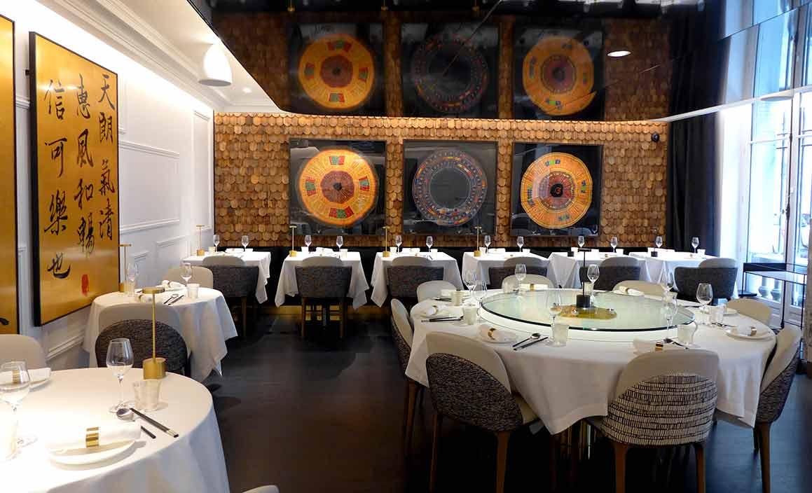 Restaurant Imperial Treasure une salle
